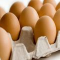 Brown fresh eggs c1