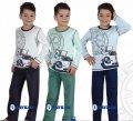 """Пижама для мальчика """"Машина"""" """"Baykar"""", голубой, 134, 134 см 2977440937228"""