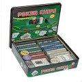 Покер набор без номинала 500 фишек, покер