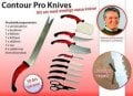 "Counter Missile defense "" (Contour Pro) set of knives"