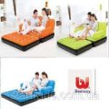 """Inflatable transforming sofa 5 v1 BestWay """"comfort quest"""" (193x152x64 cm) with the electric pump"""