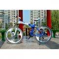 Las bicicletas de la BMW X6 con los discos fundidos