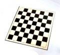 Доска для игры в шашки и шахматы картон 33 х 33 см