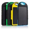 The portable Power Bank SOLAR 20000mAh charger with solar charging