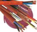 Жаростойкий силиконовый кабель Red Cupper 5x1,5