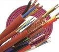 Жаростойкий силиконовый кабель Red Cupper 5 x 2,5 mm