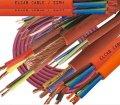 Жаростойкий силиконовый кабель Red Cupper 5x6
