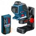 Построитель плоскостей Bosch GLL 3-80 P + BM1 + LR2 (L-boxx)