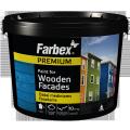 Краска для дерева деревянных фасадов Farbex