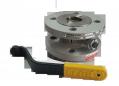Кран шаровый EFAR (EFAWA) WK 2a dn40 для авто газа, LPG, пропан-бутана, ГНС, АГЗС клапан  фланцевый полнопроходной с компенсационным уплотнением шара.