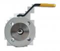 Кран шаровый EFAR (EFAWA) WK 4a PB dn25 для авто газа, LPG, пропан-бутана, ГНС, АГЗС клапан  межфланцевый полнопроходной с компенсационным уплотнением шара.