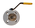 The crane sharovy EFAR (EFAWA) WK 4aG PB dn15 for a car of gas, LPG, propane-butane, GNS, AGZS the valve interflange full bore with compensation consolidation of a sphere, with a carving
