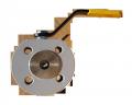 Кран шаровый EFAR (EFAWA) WK 4aG PB dn15 для авто газа, LPG, пропан-бутана, ГНС, АГЗС клапан  межфланцевый полнопроходной с компенсационным уплотнением шара, с резьбой