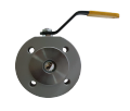 The crane sharovy EFAR (EFAWA) WK 4aG PB dn25 for a car of gas, LPG, propane-butane, GNS, AGZS the valve interflange full bore with compensation consolidation of a sphere, with a carving
