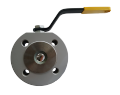 The crane sharovy EFAR (EFAWA) WK 4aG PB dn32 for a car of gas, LPG, propane-butane, GNS, AGZS the valve interflange full bore with compensation consolidation of a sphere, with a carving