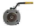 Кран шаровый EFAR (EFAWA) WK 4aG PB dn32 для авто газа, LPG, пропан-бутана, ГНС, АГЗС клапан  межфланцевый полнопроходной с компенсационным уплотнением шара, с резьбой