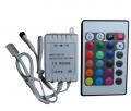 Розпродаж. Контролер для RGB стрічок + 24 кн.ИК Пульт дистанційного керування для светодиодних стрічок