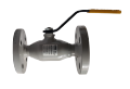The crane sharovy EFAR (EFAWA) WK 6va DN20 for a car of gas, LPG, propane-butane, GNS, AGZS the valve flange full bore with double compensation consolidation of a sphere.