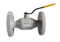 The crane sharovy EFAR (EFAWA) WK 6va DN25 for a car of gas, LPG, propane-butane, GNS, AGZS the valve flange full bore with double compensation consolidation of a sphere.