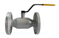 The crane sharovy EFAR (EFAWA) WK 6va DN40 for a car of gas, LPG, propane-butane, GNS, AGZS the valve flange full bore with double compensation consolidation of a sphere.