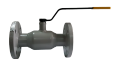 The crane sharovy EFAR (EFAWA) WK 6va DN50 for a car of gas, LPG, propane-butane, GNS, AGZS the valve flange full bore with double compensation consolidation of a sphere.