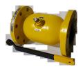 Кран шаровый EFAR (EFAWA) WK 6вa DN100 для авто газа, LPG, пропан-бутана, ГНС, АГЗС клапан  фланцевый полнопроходной с двойным компенсационным уплотнением шара.