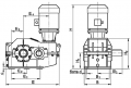 Мотор-редуктор червячно-цилиндрический типа ЧЦ, МЧЦ