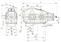 Редуктор вертикальный крановой трехступенчатый типа КЦ1, КЦ1-М