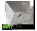 Решетка C-RVK-125 воздухозаборная для вентиляции