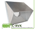 Воздухозаборная решетка для круглой канальной вентиляции C-RVK-315