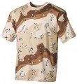 T-shirt military MFH 6 color desert 00103W