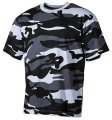 T-shirt military MFH skyblue 00103X