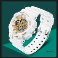 Часы спортивные Sanda Powerful Water Resistant 30 m white TGTW-05-white