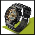 Hours sports Sanda Powerful Water Resistant 30 m gold TGTW-05-gold