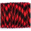 Paracord 550 red with black garfield 126 10002759
