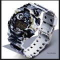 Watch of Sanda Water Resistant 30 m with a stop watch the white night of TGTW-04-gray