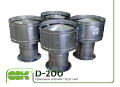 Round roof element ZS D-200