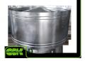 Крышный элемент вентиляции круглый D-250 ZS