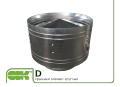 Round roof element D-1250 ZS