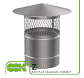 Крышный элемент вентиляции круглый Z-100