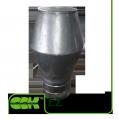 Крышный элемент вытяжной из оцинкованной стали EZ-160