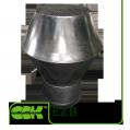 Вытяжной крышный элемент вентиляции из оцинкованной стали EZB-400