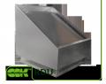 Квадратный крышный элемент вентиляции RDU-600 ZS