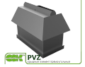 Крышный элемент вентиляции прямоугольный PVZ-700