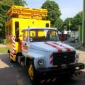 The breakdown vehicle for repair of contact networks AT-70M-041 on GAZ