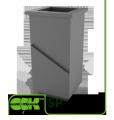 Проходной стакан под крышные элементы вентиляции SP-6 ZS 50мм