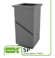 Übergeben Sie das Glas für die Belüftung des SP-16 ZS 50 mm