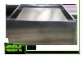 Крышный элемент вентиляции квадратный RD-400 ZS
