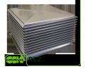 De elementen en componenten van ventilatiesystemen