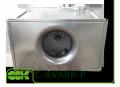 C-KVARK-P-50-30-25-2-380 вентилятор канальный радиальный прямоугольный с трехфазным электродвигателем